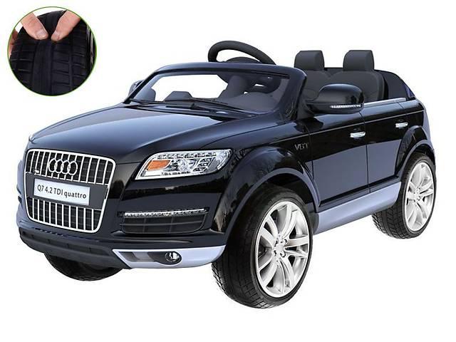 бу Детский электромобиль Audi Q7: моторы 2х45W, авмортизация, колеса EVA в Львове