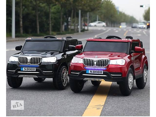 купить бу Детский электромобиль BMW S8088 полноприводный, колеса резиновые в Днепре (Днепропетровск)