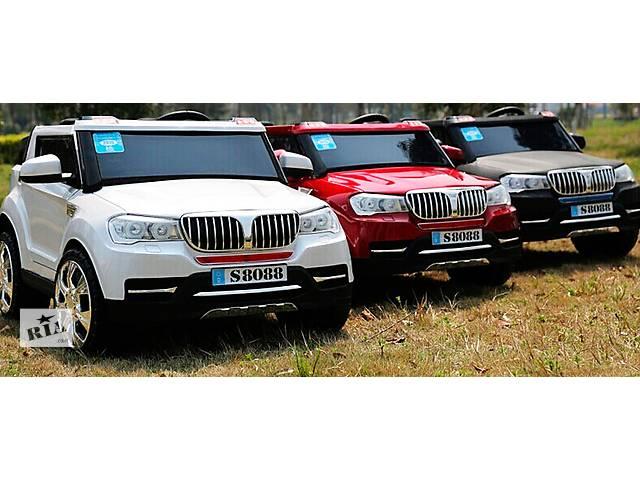 продам Детский электромобиль BMW S8088 полноприводный, колеса резиновые бу в Днепре (Днепропетровск)