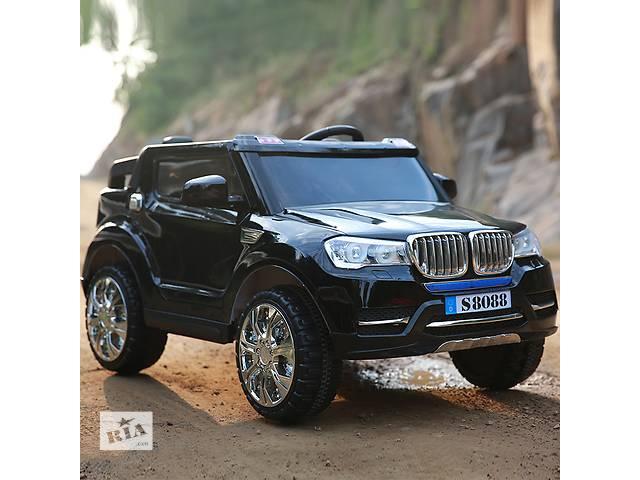купить бу Детский электромобиль BMW S8088 двухместный,полноприводный, EVA колёса в Львове