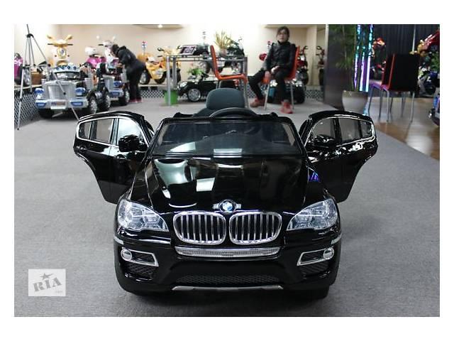 бу Детский электромобиль BMW X6 258 черный в Львове