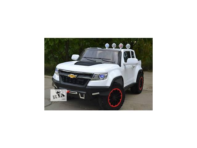 купить бу Детский электромобиль Chevrolet 1602 4 мотора x 45W, полный привод в Днепре (Днепропетровск)