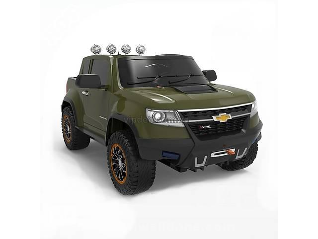 продам Детский электромобиль Chevrolet 1602, джип с EVA колёсами 4х4 и багажником бу в Кривом Роге (Днепропетровской обл.)