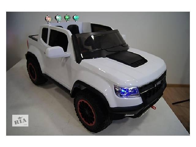 бу Детский электромобиль Chevrolet А 1602 ,4мотора Х 45W Полноприводный в Одессе