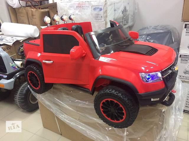 продам Детский электромобиль Chevrolet А 1602 ,4мотора Х 45W Полноприводный бу в Днепре (Днепропетровск)