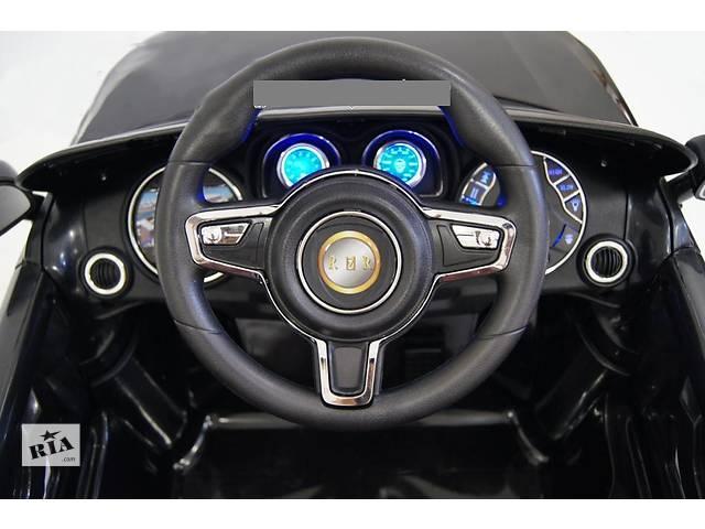 бу Детский электромобиль джип Ауди на резиновых EVA колёсах, амортизаторы, сиденье кожа в Днепре (Днепропетровске)