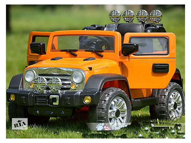 купить бу Детский электромобиль Джип JJ 235 R в Львове