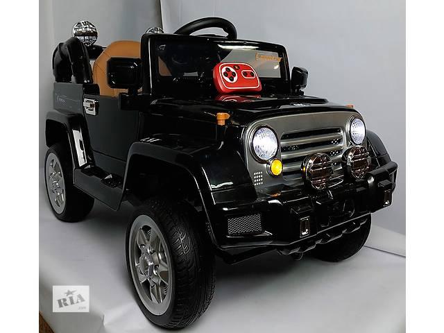 купить бу Детский электромобиль Джип JJ 245 кожа в Львове