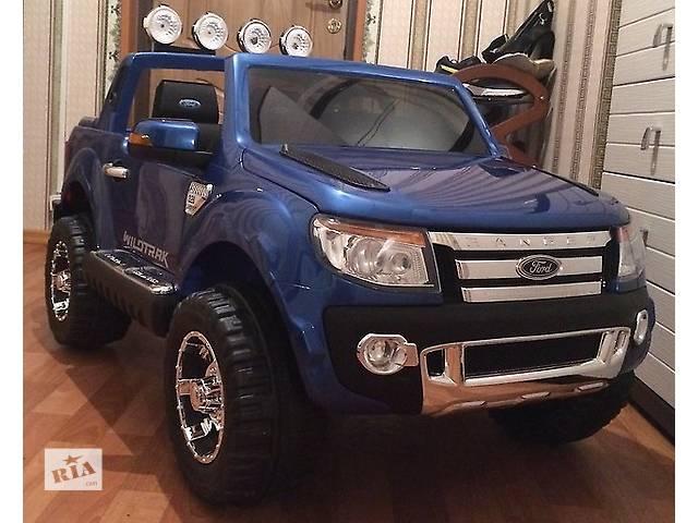 Детский электромобиль ford ranger f-150 синий, авто покраска- объявление о продаже  в Днепре (Днепропетровск)