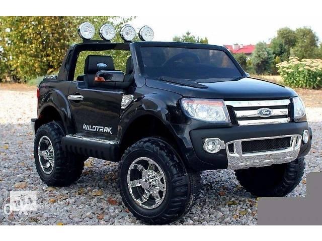 продам Детский электромобиль FORD RANGER KD 150 / М 2764 черный бу в Киеве