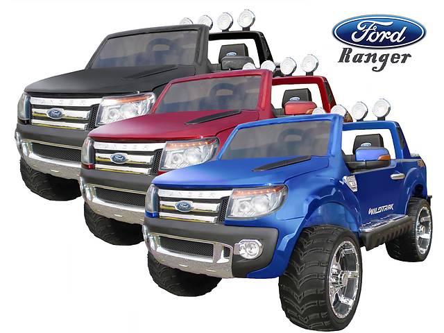 бу Детский электромобиль Ford Ranger: кожаное сидение и резиновые колеса EVA в Львове