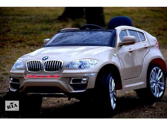 купить бу Детский электромобиль JJ 258 BMW с кожаным сиденьем! в Львове