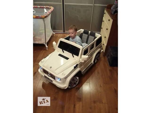 бу Детский электромобиль кубик Mercedes G55 EBRS-2 BLACK кубик в Львове