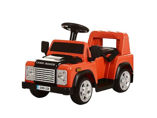 продам Детский электромобиль land rover m 3163 br-7: 2.4g, 20w, 6v - оранж бу в Киеве
