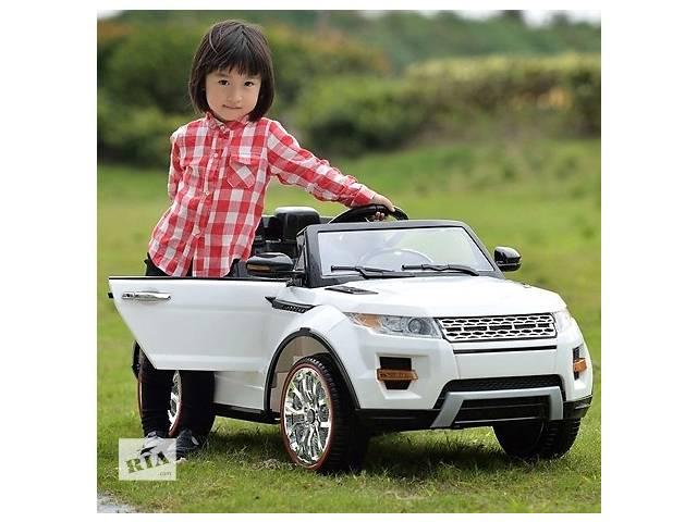 Детский электромобиль land rover sx 118: 2.4g, eva, 3-8 км/ч - белый (6307893399)- объявление о продаже  в Одессе