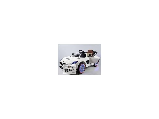 продам Детский электромобиль M 2760 EBRS-1 Мерседес-Benz AMG, (автокраска, белый) бу в Львове
