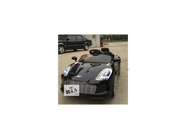 продам Детский электромобиль M 2774 EBRS-2 Aston Martin, автопокраска, чёрный бу в Днепре (Днепропетровск)