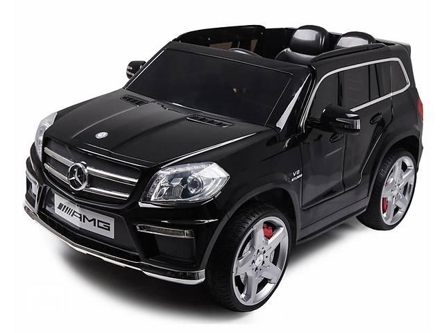 купить бу Дитячий електромобіль Mercedes AMG GL63: шкір.сидіння і гумові колеса EVA в Львові
