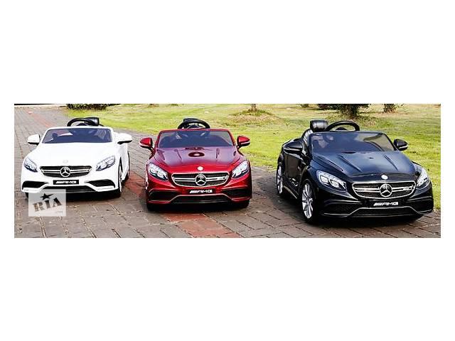 продам Детский электромобиль Mercedes AMG S63 HL169 бу в Львове