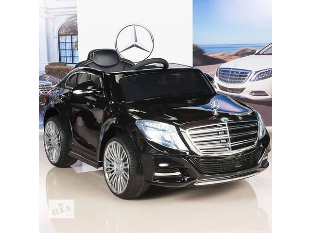 продам Детский электромобиль Mercedes-BENZ S600: 90W, 8 км/ч, EVA, кожа, 2.4G бу в Киеве