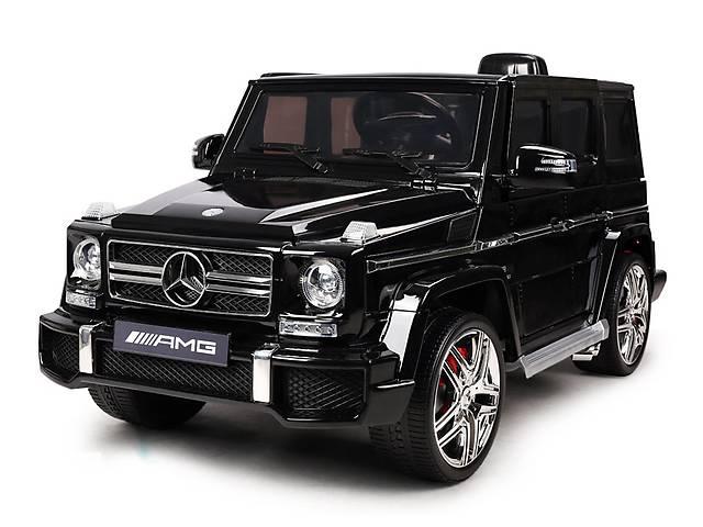 купить бу Детский электромобиль Mercedes Brabus M 2796 EBR-2: EVA, 2.4G, 8 км/ч, FM+USB - BLACK в Львове