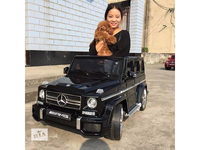 купить бу Детский электромобиль Mercedes G63 AMG 168 Хит на мягких колесах в Львове