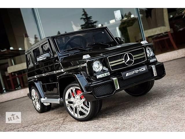 Детский электромобиль Mercedes G63 AMG- объявление о продаже  в Львове