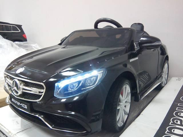 продам Детский электромобиль Mercedes S63 - M 2797 кожаное сиденье бу в Львове