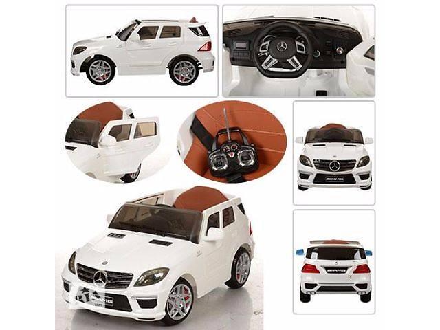 купить бу Детский электромобиль ML 63 ELR-1 Мерседес, Кожаное сиденье, EVA колёса в Львове