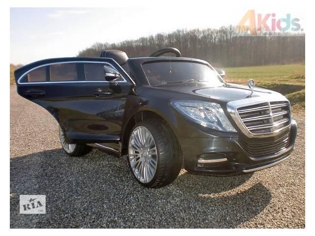 купить бу Детский электромобиль NEW Mercedes S600 колеса EVA кожаное сиденье в Львове