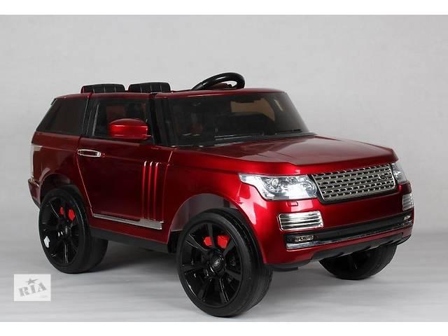 Детский электромобиль Range Rover 3153 EBRS-3: 12V, 8км/ч, 2.4G - БОРДО- объявление о продаже  в Львове