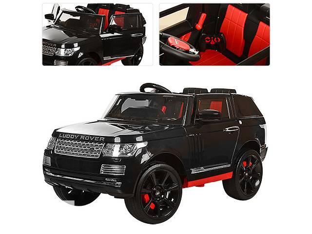 Детский электромобиль Range Rover 6628: 12V, 8км/ч, 2.4G - ЧЕРНЫЙ- объявление о продаже  в Одессе