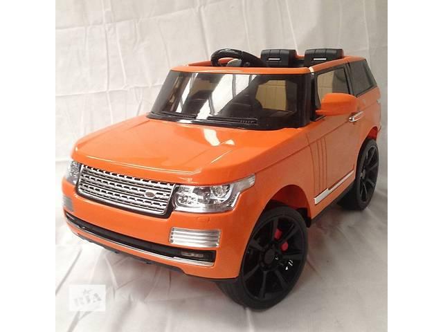 продам Детский электромобиль Range Rover 6628: 12V, 8км/ч, 2.4G - ОРАНЖ бу в Киеве