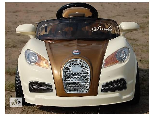 купить бу Детский электромобиль SMILE 938 спортивная модель Bugatti в Кривом Роге (Днепропетровской обл.)