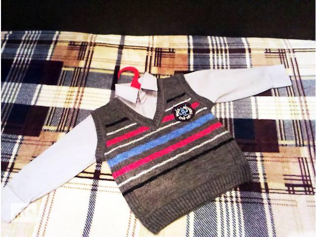 купить бу Детский комплект Жилетка + Рубашка. Брендовая одежда из Европы за копейки! в Краматорске