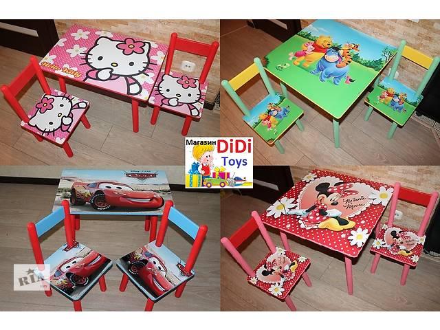 продам Детский стол со стульчиком Винни пух мед варианты бу в Днепре (Днепропетровске)