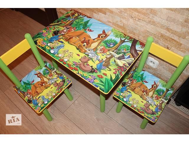 Детский столик со стульчиком Бэмби (варианты)- объявление о продаже  в Днепре (Днепропетровске)