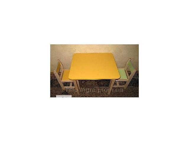 бу Детский столик со стульчиком в Днепре (Днепропетровск)
