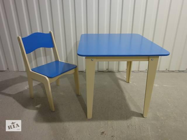 Детский столик и стульчик- объявление о продаже  в Виннице