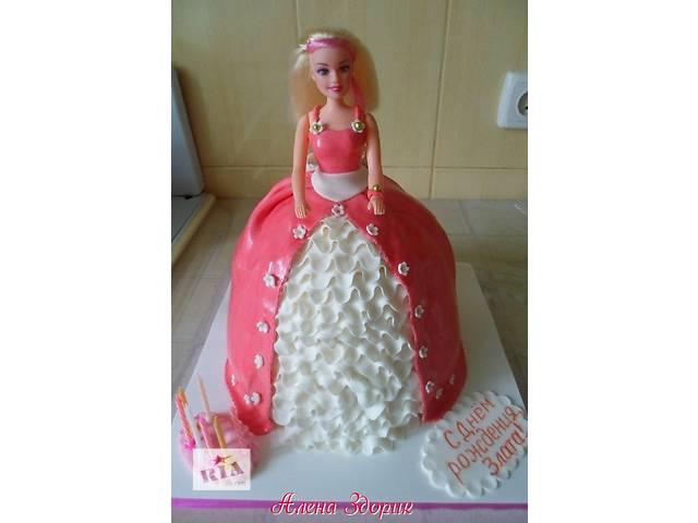 бу Детский торт кукла Барби в Киеве