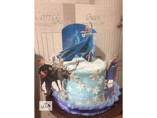 бу Детский торт на заказ с героями из мультиков в Киевской области