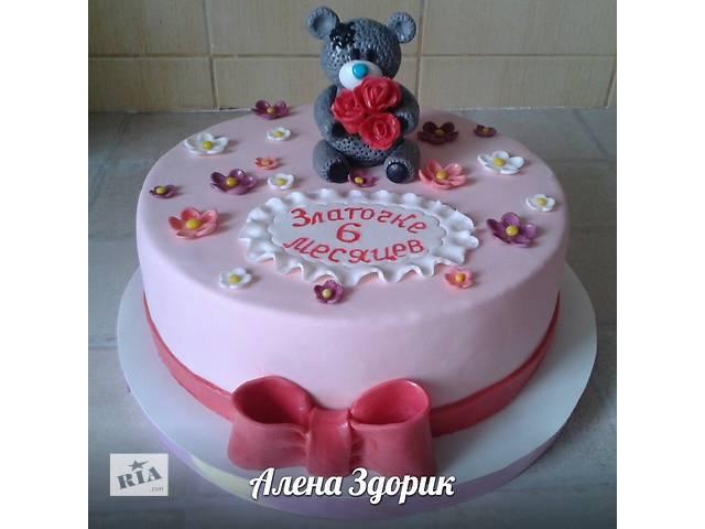 купить бу Детский торт с мишкой в Киеве