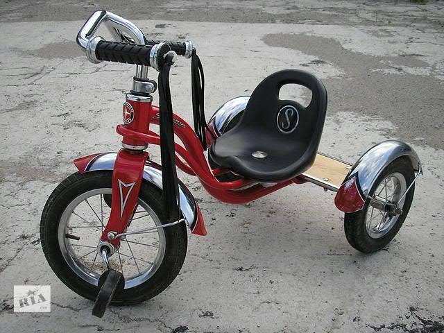 продам Детский трехколесный велосипед Schwinn roadster trike 12 red (Донецк, Макеевка) бу в Макеевке