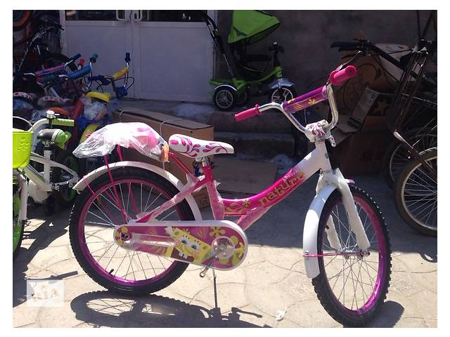 """Детский велосипед 20"""" TILLY Губка боб + подарок- объявление о продаже  в Харькове"""