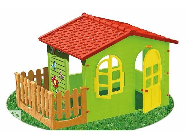 продам Детский игровой домик Garden House с террасой. Доставка по Украине! бу в Тернополе