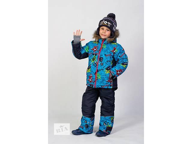 продам Детский зимний комбинезон Монстрик для мальчика бу в Киеве