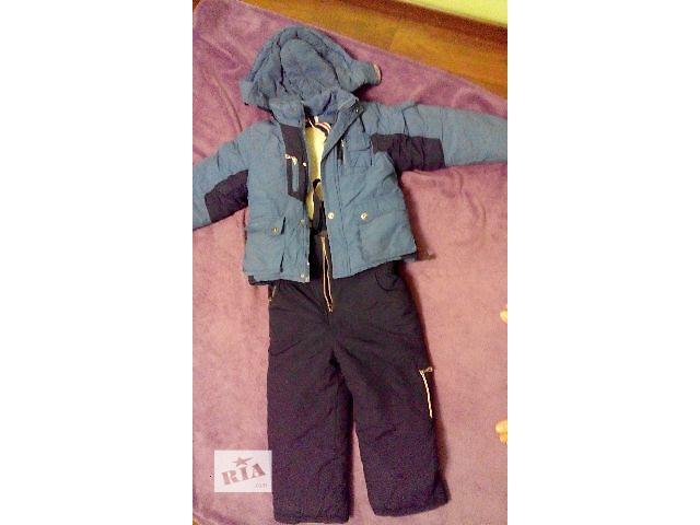 Детский зимний комбинезон (штаны на шлейках и куртка)- объявление о продаже  в Ровно