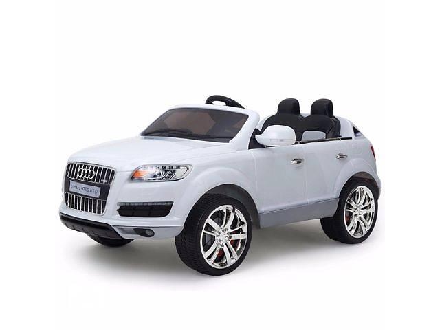Детский электромобиль Audi Q7 Quattro: лицензия, покраска WHITE- объявление о продаже  в Киеве
