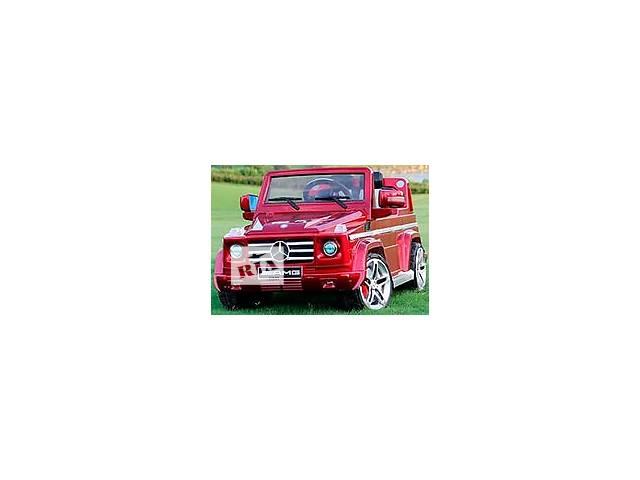продам Дитячий електромобіль Джип G 55 Гелендваген на колесах EVA бу в Львове