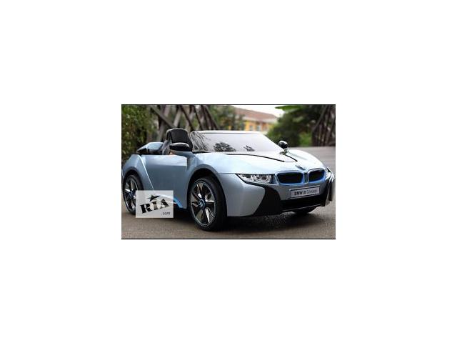 продам Детский электромобиль JE 168 R-1 BMW  с подсветкой корпуса бу в Днепре (Днепропетровске)